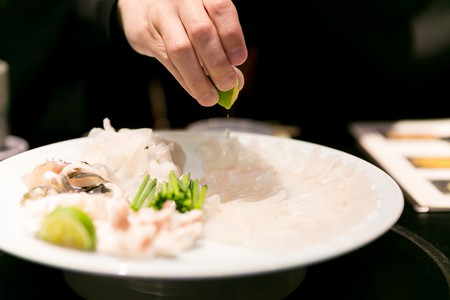 Fugu sashimi | © City Foodsters/Flickr
