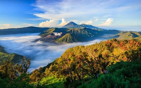 Bromo volcano at sunrise,Tengger Semeru National Park, East Java, Indonesia | © Ikunl / Shutterstock