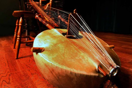 One of Africa's many musical instruments, the African lute, called the kora   © wikimedia.org