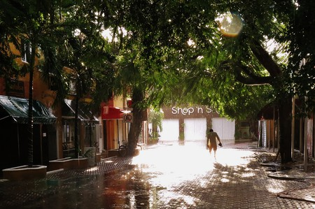 Rain in Playa del Carmen | © Cristopher Gonzalez / Flickr