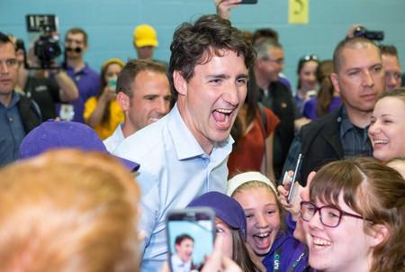 Canadian Prime Minister Justin Trudeau © Canadian Press/REX/Shutterstock