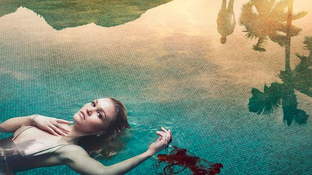 Riviera is showing on Sky and follows the life of Georgina Clios, played by Julia Stiles   © Sky Atlantic