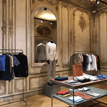 Gieves & Hawkes, Savile Row | Image courtesy of Gieves & Hawkes instagram