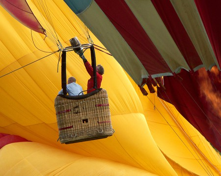 Hot Air Ballooning over Leeds and West Yorkshire | © Chris Mole/Shutterstock