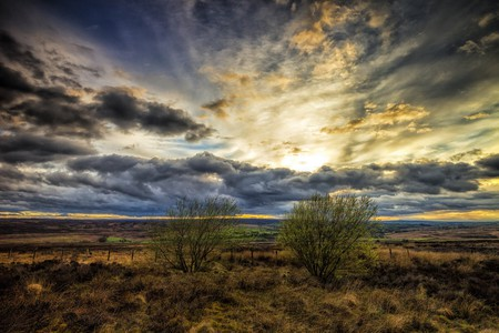 Sunset on the Yorkshire Moors | © Darren Flinders/Flickr