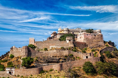 Kumbhalgarh Fort is also called the Great Wall of India