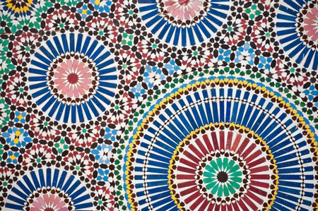 Colourful Moroccan designs, as found in many hotels, guesthouses, and other accommodations  © Jörg Reuter / Flickr