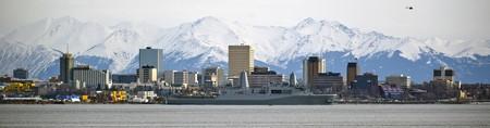 Downtown Anchorage Skyline