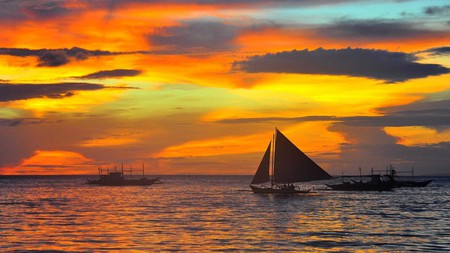Boracay sunset | © Christian Manalo/Flickr