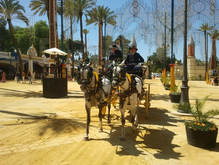 The Feria del Caballo in Jerez; Mark Nayler