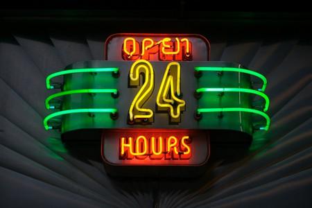 Open all hours | © Marcin Wichary / Flickr