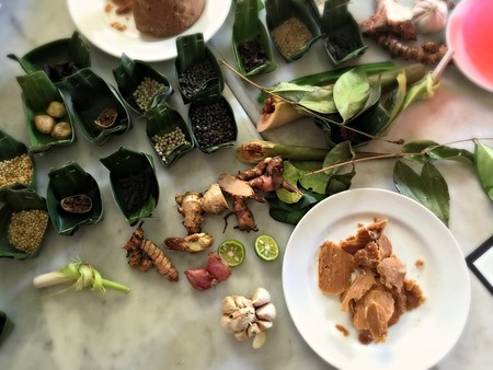 Balinese traditional herbs and spices