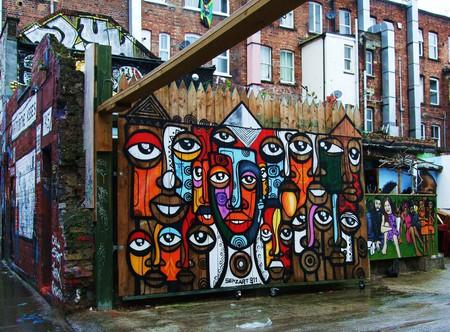 Graffiti on Hanbury Street   Photo by Jim Linwood