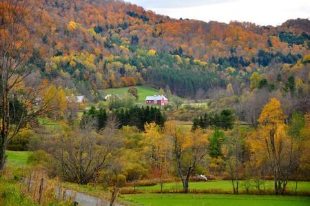 Fall foliage in Vermont | © Kimberly Vardeman / Flickr