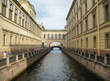 The Winter Canal at the Winter Palace | © alexxx-malev/Flickr