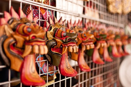 Thai masks | © Mark Fischer/Flickr