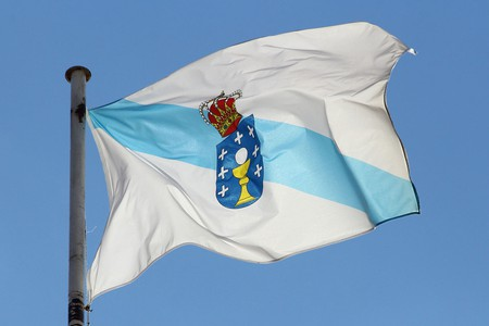 The Galician flag | ©Contando Estrelas / Wikimedia Commons