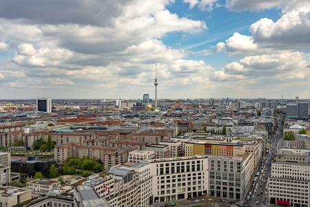Berlin skyline | © ThomasWolter/Pixabay