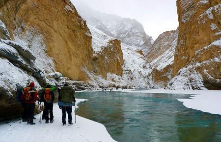 Chadar Trek | © Sumita Roy Dutta / Wikimedia Commons