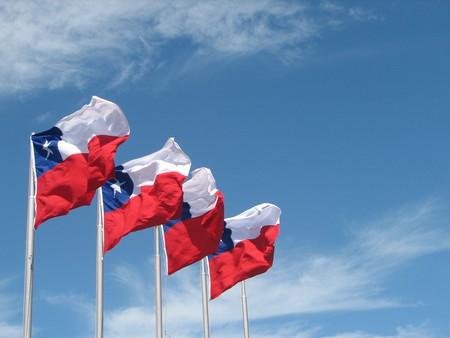 Chile flags   © Mark Scott Johnson/WikiCommons