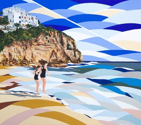 Girls on the Beach   Courtesy of Alyson Sheldrake