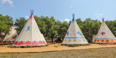 Teepees   Courtesy of Westgate River Ranch Resort & Rodeo