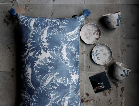Collaboration with porcelain designer Kajsa Cramer   Courtesy of Emma von Brömssen