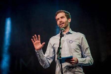András Fekete-Győr of Momentum Mozgalom