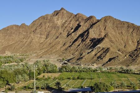 Mountains in Fujairah