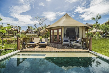 There are many luxurious options available when it comes to glamping in Indonesia