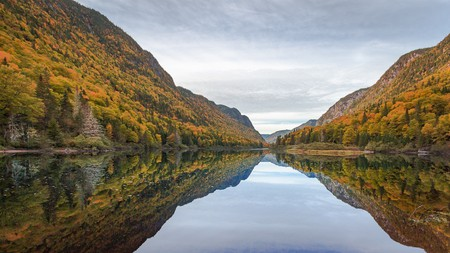 Miroir Jacques Cartier, Quebec   © Laurent GASS / Flickr
