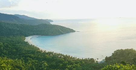 View of Nagtabon Beach | © Katrina Escalona