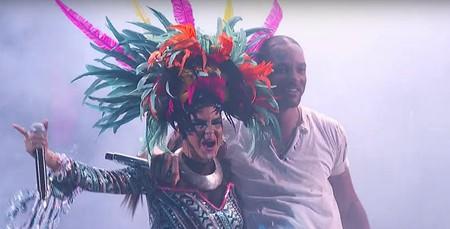 Will Smith and Bomba Estereo   Courtesy of The Latin Grammys