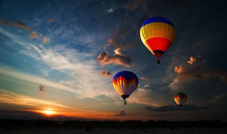 France has a new world record for simultaneous balloon flights | © rozbyshaka/Shutterstock