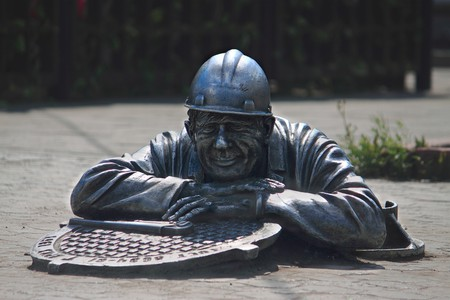 'Stephan the Plumber' sculpture in Omsk |  © Andrew Babble / Shutterstock