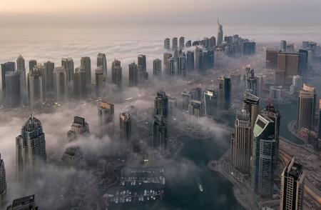 Dubai submerged in fog | © mohamed alwerdany/Shutterstock