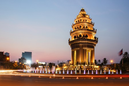 Independence Monument in Phnom Penh
