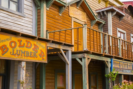 Detailed western style buildings of Mini Hollywood   © Ossobuko/Shutterstock