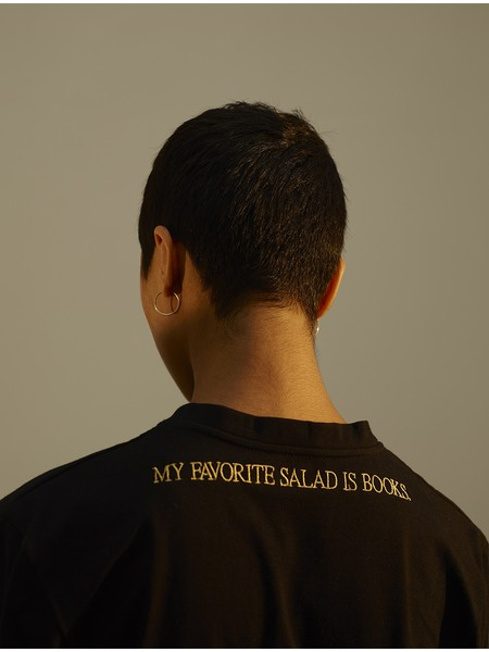 My favourite salad is books T-shirt © Proemes
