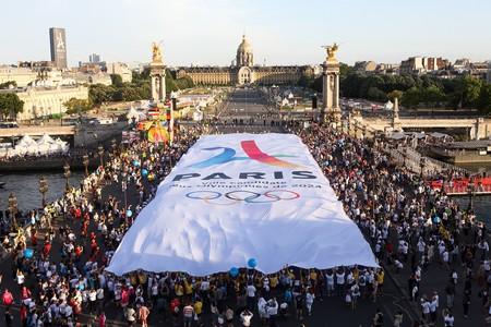 TIFO PARIS 2024 DURING THE OLYMPICS DAYS, IN PARIS, FRANCE, ON JUNE 24, 2017 │© VILLE DE PARIS / PARIS 2024