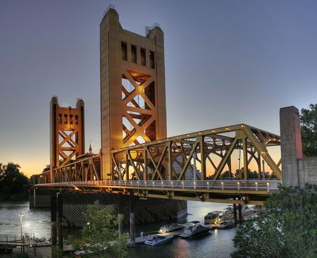 Sacramento Tower Bridge |© Michael Grindstaff / WikiCommons