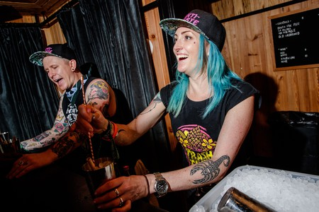 Trash Tiki's Iain Griffiths and Kelsey Ramage | © Josh Brasted