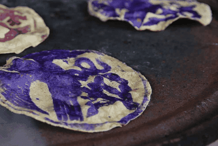 Colored tortillas | © Photo courtesy of Thames & Hudson in association with TransGlobe Publishing