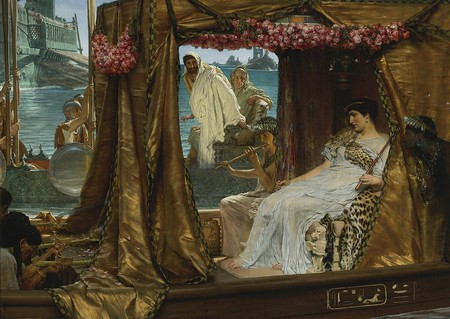 Sir Lawrence Alma-Tadema , The Meeting of Antony and Cleopatra, 1884 | ©   Wikimedia Commons