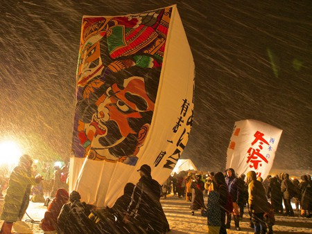 Akita Paper Balloon Festival | © Syuzo Tsushima / Flickr
