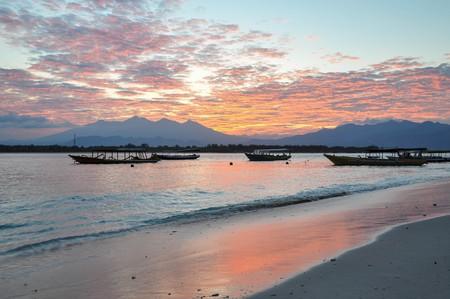 Sunset at Gili Trawangan | © Jorge Láscar/Flickr