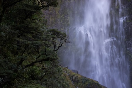 Devil's Punchbowl Falls, New Zealand | © Jose Gallego/Flickr