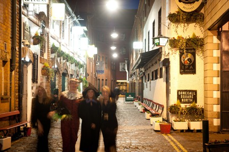 A Halloween pub crawl in Belfast | Courtesy of Tourism NI