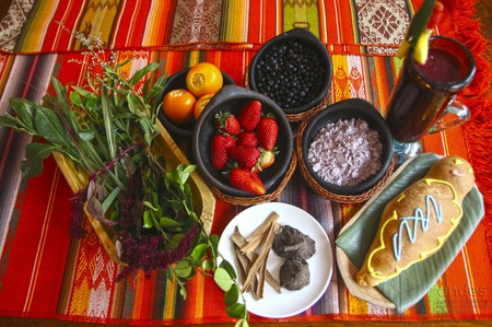 Ingredients for Colada Morada, Ecuador | © Agencia de Noticias ANDES / Flickr