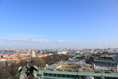 St Petersburg Skyline | © mealisland/Flickr